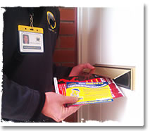 Reliable door-to-door hand delivery
